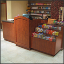 Custom Single Station Retail Counters