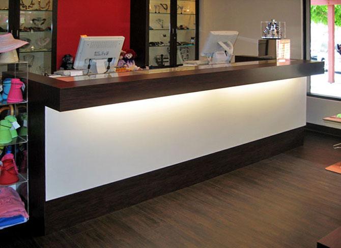 ... Counters - Glass Showcase Retail Store Counter - Creative Store