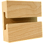 LPL Maple Slatwall Panel