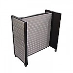 Steel Slatwall H-Shape Display